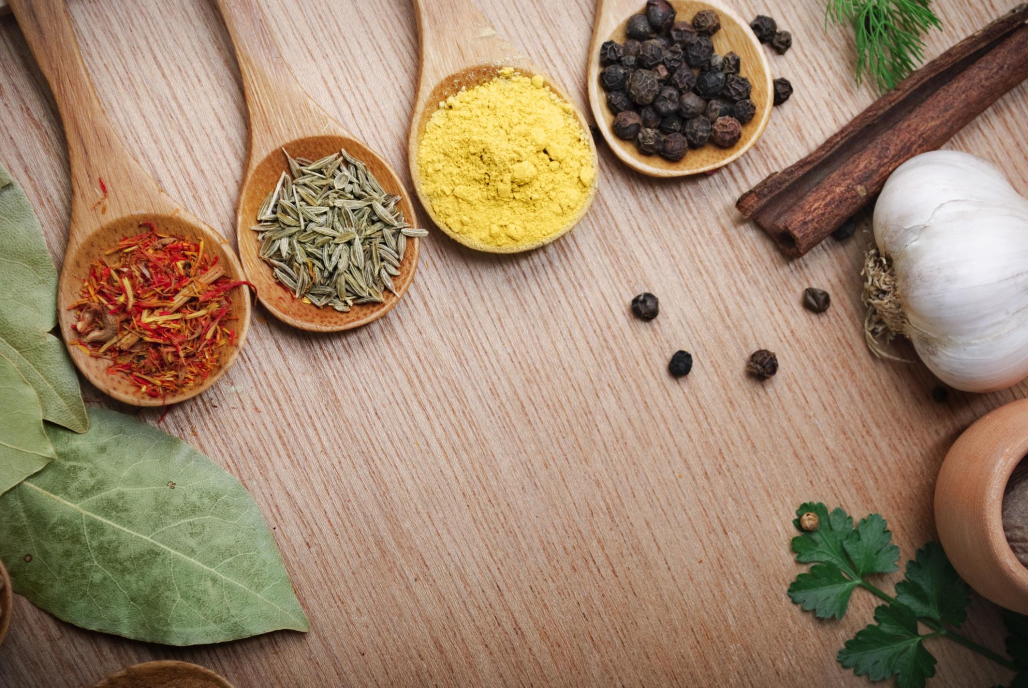 Dimagrire con spezie e aromi l 39 urlo - Spezie in cucina ...