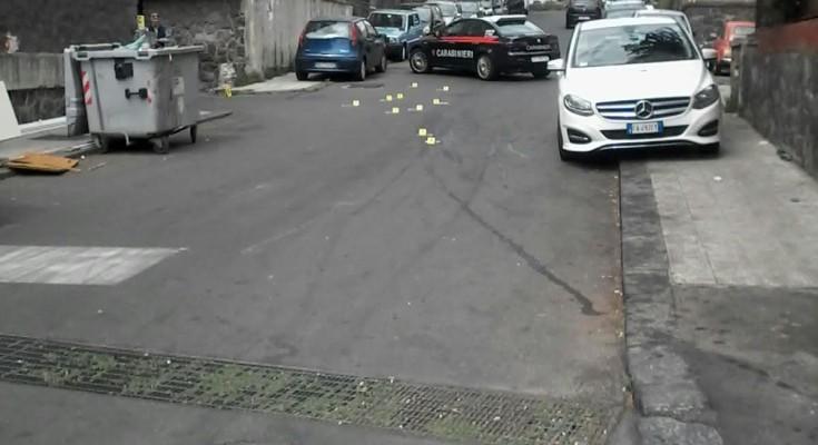 Sparatoria a Catania, un morto e un ferito$