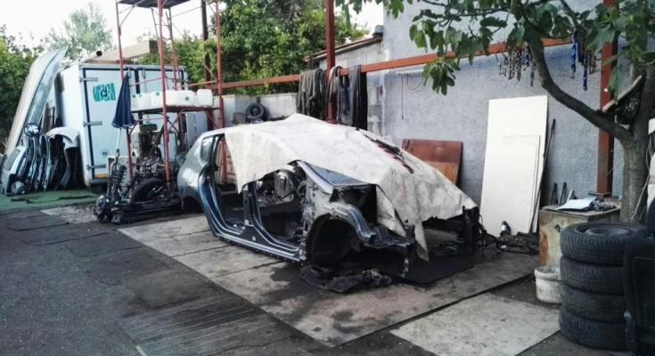 Scoperto deposito di auto rubate a Santa Venerina