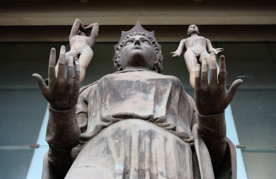 Giustizia, Statua Tribunale di Catania