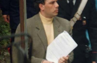 Un'immagine d'archivio, senza data, del boss mafioso Giuseppe Graviano.  ANSA / FRANCO LANNINO