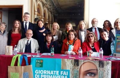 Delegazione Fai con rappresentanti Beni Culturali coinvolti