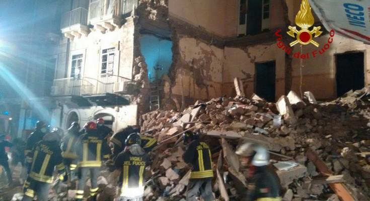 Catania, morta la donna ferita nel crollo di via Crispi$