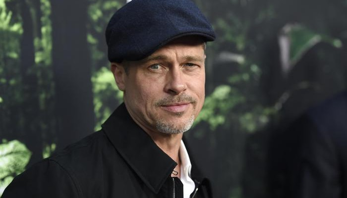 """FILE - In this April 5, 2017, file photo, Brad Pitt arrives at the Los Angeles premiere of """"The Lost City of Z"""" at the ArcLight Hollywood. Pitt told GQ Style magazine for an interview published online May 3, 2017, that he quit drinking since Angelina Jolie filed for divorce in Sept. 2016. (Photo by Chris Pizzello/Invision/ANSA/AP, File) [CopyrightNotice: 2017 Invision]"""