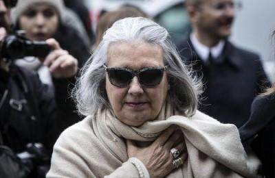 Laura Biagiotti in una foto d'archivio. ANSA/ANGELO CARCONI