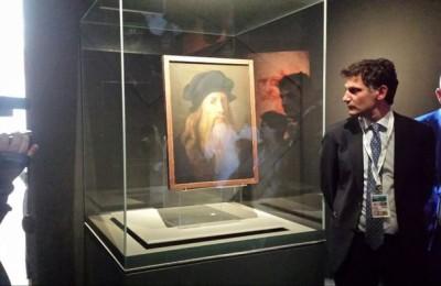 G7: esposto 'Autoritratto' di Leonardo da Vinci a Taormina