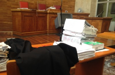 tribunale aula palermo ANSA/SIMONA LICANDRO