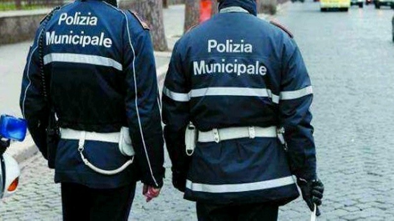 vigili in città