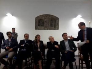 I cinque bambinelli: Mauro Mangano, Antony Di Stefano, Nino Lombardo, Nino Naso, Salvo La Delfa
