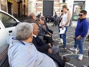 Valentina Borzì, Giovanni Arcidiacono e Mery Prezzavento spiegano i motivi della protesta