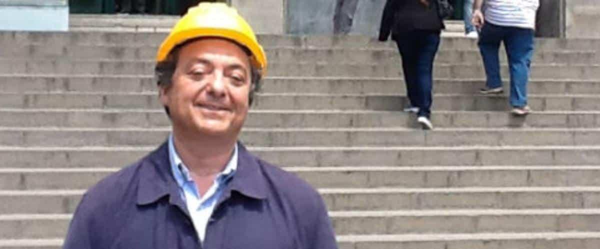 Tuccio D'Urso, il candidato col caschetto