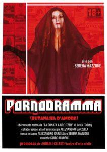 'Pornodramma' al Teatro Coppola con Serena Mazzone