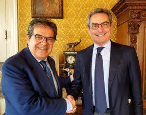 Enzo Bianco Andrea Annunziata Autorità di Sistema Portuale della Sicilia Orientale