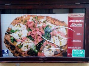 pizza in Ortigia
