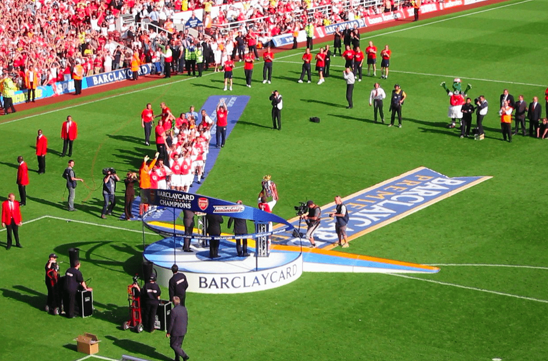 Arsenal record di vittorie stagione 2003-2004 vince la Premier League