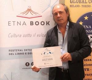 Paolo Sidoti vincitore a Etnabook 2020